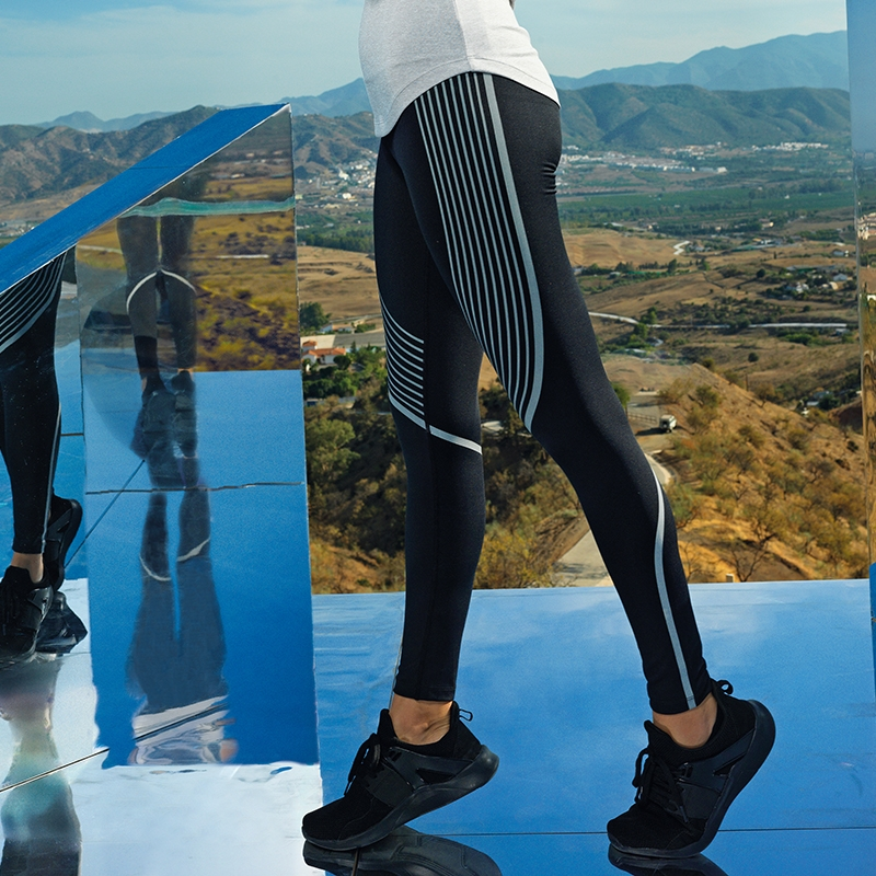 Women's TriDri® performance reflective leggings